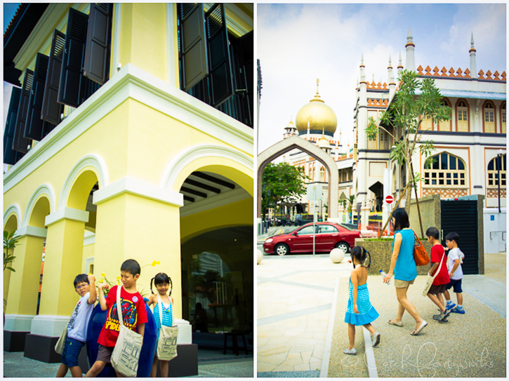 Arab Street Trail for Children 1